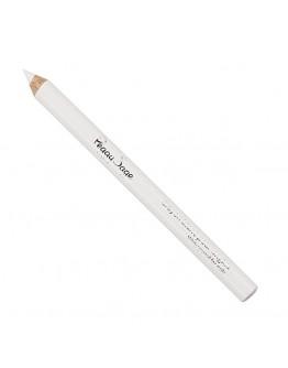 Lápis branco para as unhas
