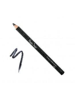 Lápis de olhos com purpurinas noir