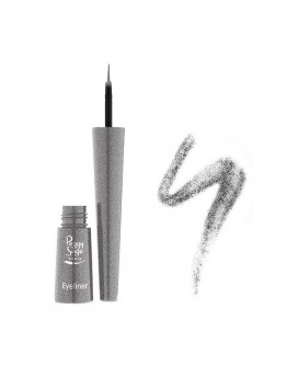 Eye liner pincel - pailleté argent