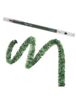 Lápis de olhos vert jade com ponta de esbater