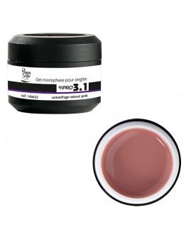 Gel PRO 3.1. camuflagem - natural pink