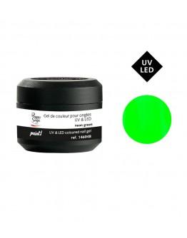 Gel de cor Paint - neon green