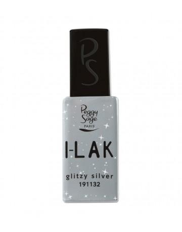 Verniz gel I-Lak - Glitzy silver