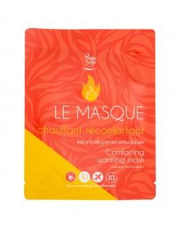 Máscara aquecida reconfortante