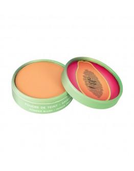Pó de rosto fragrância papaia