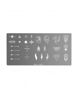 Placa stamping - ethnic