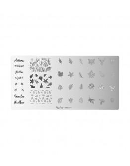 Placa stamping - autumn